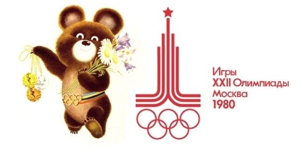 Misha foi o mascote das Olimpíadas de 1980, disputadas em Moscou