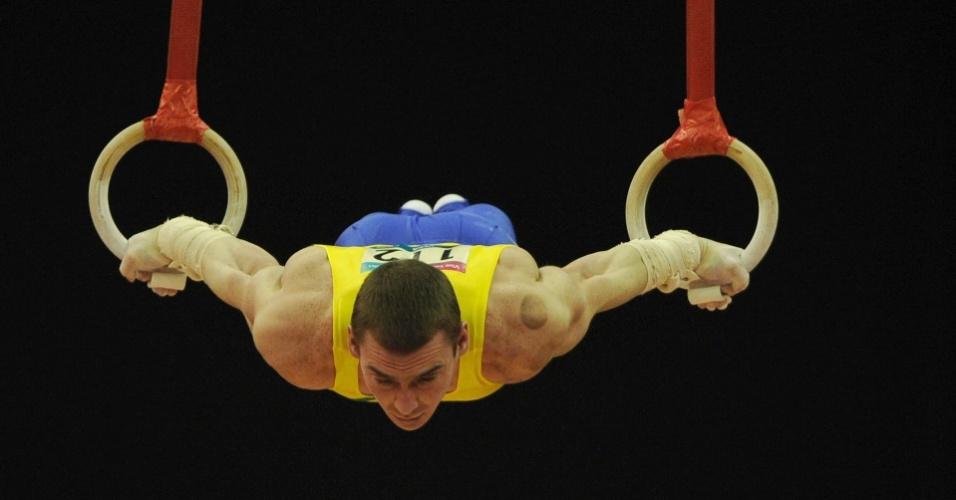 Brasileiro Arthur Zanetti conseguiu a maior nota nas argolas entre os competidores do Pré-Olímpico