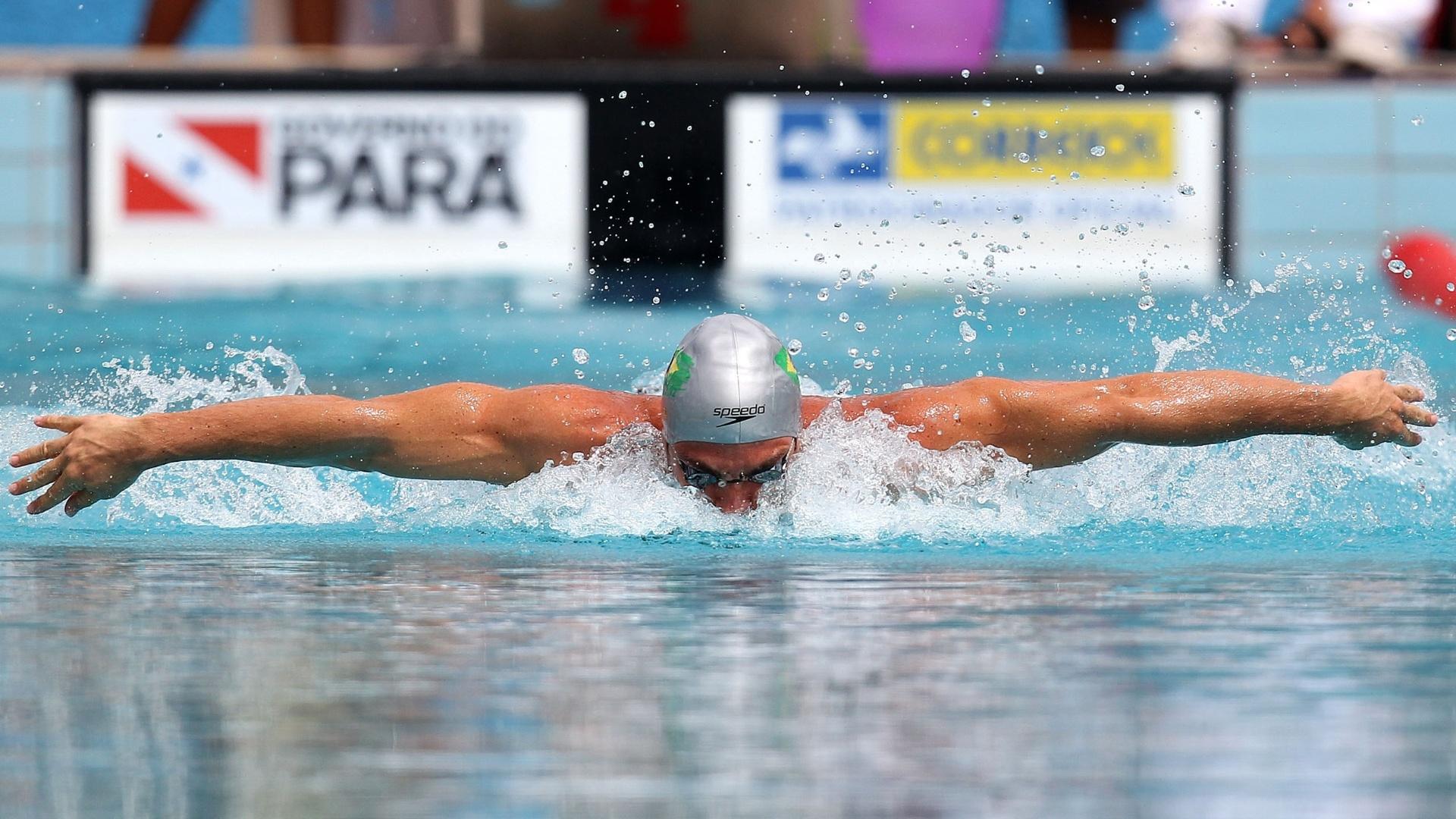 Kaio Marcio será o outro brasileiro na final dos 200m borboleta