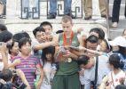 Cielo curte dia de turista em Pequim
