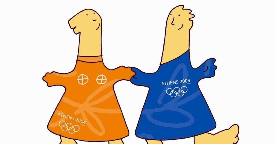 Phevos e Athena foram escolhidos para representar Atenas 2008.