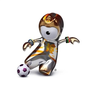 Wenlock também tem sua versão futebolista.