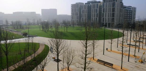 O Parque Olímpico de Londres foi projetado pela mesma empresa contratada pelo Rio-2016